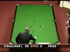 Incredible maximum break (Snooker) by Ronnie O'Sullivan