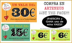 Sorteo Arteneus, para Comprar...By the Face!!! PARTICIPA en este enlace http://bitly.com/1qPoVXi