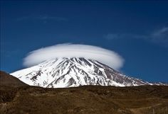 """Damavand """" the highest mountain in IRAN & Middle East Mount Rainier, Middle East, Iran, Asia, Mountains, City, Nature, Travel, Naturaleza"""