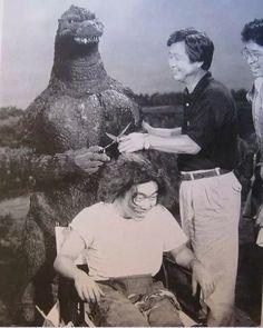 Godzilla the Hair Stylist