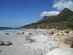 Llandudno Beach is one of the most popular surfing spots near Cape Town, Western Cape, South Africa! Sunday afternoon picnic here with family :) South Africa Beach, Cape Town South Africa, Table Mountain, Exterior, Most Beautiful Cities, Strand, Places Ive Been, Surfing, Places To Visit