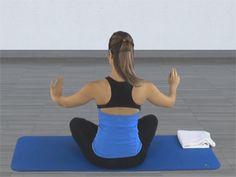 En Pilates, para conseguir mantener nuestro centro estabilizado es necesario, además de no perder la contracción abdominal al iniciar cada ejercicio, colocar adecuadamente nuestras escápulas (u omóplatos) de tal modo que permanezcan estables.
