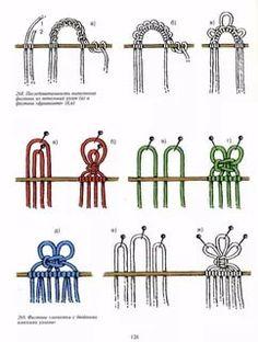 Macrame Bracelet Patterns, Macrame Patterns, Macrame Bracelets, Loom Bracelets, Friendship Bracelets, Macrame Plant Hangers, Macrame Bag, Jewelry Knots, Micro Macramé