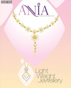 "Reliance Jewels presents ""Ania"" Elegant Light Weight Jewellery for your stylish day to day adornment..... Visit our stores and Explore the complete range...  Locate your nearest Reliance Jewels Store here: http://storelocator.ril.com/jewels/  #Reliance #RelianceJewels #Jewels #Jewellery #BeTheMoment #Moments #Life  #LifeIsNow #February2016"