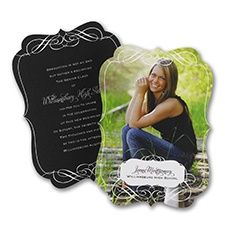 customize your photo announcements and invitations for graduation with one or more graduating pictures at InvitationsByU.com