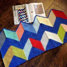 Freeform Crochet, Knit Crochet, Crochet Food, Ravelry, Celtic, Chevron, Crochet Patterns, Quilts, Blanket