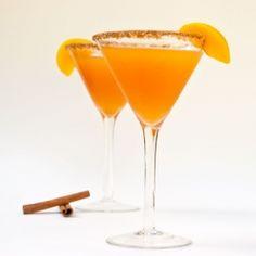 Peach Cobbler Martini: Southern summer in a glass!