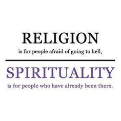 Religion should be a way of expressing and sharing your spirituality. Spirituality is the key. The Words, Spiritual Awakening, Spiritual Quotes, Spiritual Life, Awakening Quotes, Spiritual Growth, Ste Bernadette, Religion Vs Spirituality, Religion Quotes