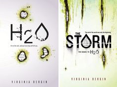 """""""H2O"""" and """"The Storm"""" by Virginia Bergin - In this post-apocalyptic YA thriller series, bacteria has made water poisonous, and civilization struggles as the drinkable water supply runs dangerously low. The series is an example of cli-fi (climate fiction aka eco-fiction), a genre that hinges on """"climate change as part of the plot in which the characters struggle to survive"""" (YALSA, 2015). Click through for more examples by YALSA."""