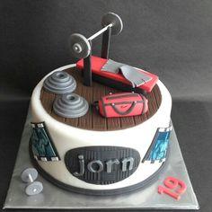 Bodybuilding  cake
