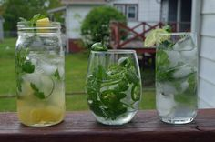 Three Mojito Recipes for Cilantro Lovers! --> http://www.hgtvgardens.com/recipes/spice-up-your-cinco-de-mayo-cilantro-mojitos?soc=pinterest