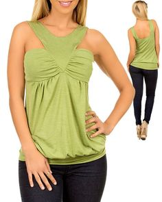 V-neck Tunic Top LOVE the front