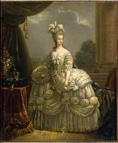 After Vigée Lebrun, Marie-Antoinette, Oil on canvas (Compiègne)