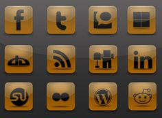 Free and Exclusive Icons Social Icons