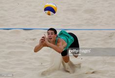 PORTO, PORTUGAL - JULY 13: Francisco Pombeiro of Portugal digs... #pombeiro: PORTO, PORTUGAL - JULY 13: Francisco Pombeiro of… #pombeiro