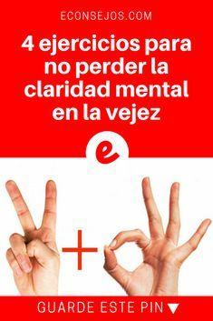 Claridad mental | 4 ejercicios para no perder la claridad mental en la vejez