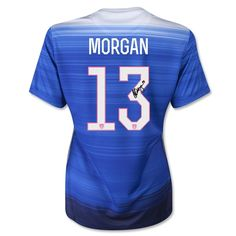 Alex Morgan Autographed 2015 Team USA Jersey - World Cup Champs