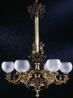 ~ Chandeliers Luxury Chandelier, Antique Chandelier, Antique Lamps, Chandelier Lighting, Victorian Chandeliers, Victorian House Interiors, Victorian Decor, Victorian Homes, Victorian Era