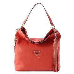 8b3244de18 GUESS Vs620903 Thompson Bucket Purse Handbag Coral for sale online | eBay