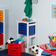 RiverRidge Kids Cool Colors 2-Bin Storage Cabinet & Lalaloopsy Toy Box Bench by Little Tikes Pink ($114) ? liked on ...
