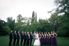 www.ginsberg.cc  The Groom with the groomsmen  The bride with the bridesmaids