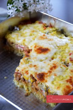 zapiekanka gyros One Pan Meals, Lasagna, Macaroni And Cheese, Slow Cooker, Dinner Recipes, Dinner Ideas, Clean Eating, Food Porn, Food And Drink