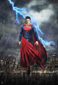 "Photo: HENRY CAVILL AS SUPERMAN IN ""BATMAN VS. SUPERMAN: DAWN OF JUSTICE."""
