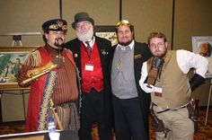 Steampunk party night - at Steamathon 2015- Doc Phineas' World Steampunk Convention in Las Vegas at the Main Street Station Hotel and Casino #steamathon