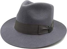 Amazon.com: grey fedora hats for men: Clothing, Shoes & Jewelry