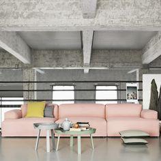 Sofa fra MUUTO Connect, vi har den utstilt i vår butikk VERKET INTERIØR på Bærums Verk ( oslo)