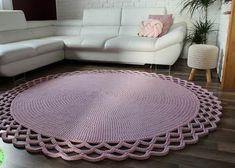 Best Carpet Runners For Hallways Shag Carpet, Diy Carpet, Carpet Tiles, Tile Bedroom, Bedroom Carpet, Crochet Carpet, Crochet Home, Green Carpet, Beige Carpet