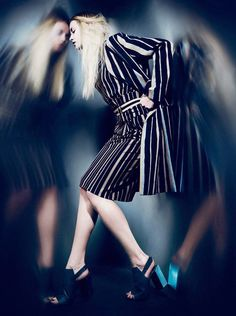 Ginta Lapina by Billy Kidd for L'Express Styles February 2015