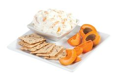 Sweet Cream Cheese with Apricots from #YummyMarket