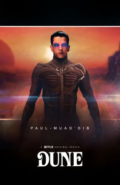 Paul-Muad'dib ''Dune'' character concept poster by NiteOwl94.deviantart.com on @DeviantArt
