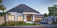 Dwi Irawan Private House Design II - Cirebon, Jawa Barat- Quality house design of architectural services, experienced professional Bali Villa Tropical designs from Emporio Architect. Architectural House Plans, Architectural Services, Bali House, My House, Indian Architecture, Simple House, Home Fashion, Luxury Homes, House Design
