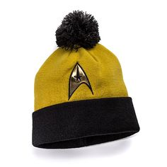 Star Trek: The Original Series Knit Hat - Command Division (Gold) ($14.99)
