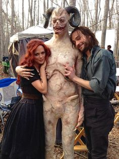 In honor of Moloch's Apocalypse here's a lovely #SleepyHollow memory of his softer side @TomMison @katia_winter from Twitter