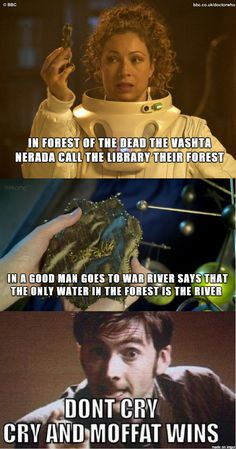 The only water in the forest is the River