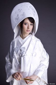 A traditional Japanese bride