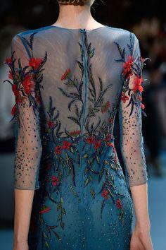 Lo mejor de Haute Couture Otono Invierno 2014Detalles de la coleccin de Georges Hobeika