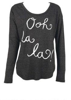 Ooh La La Tee - Tops - Clothing - Alloy Apparel