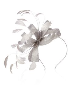 10 Best silver fascinator images  0a6d0575326