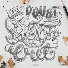 Creative Typography and Beautiful-Lettering--Typography-Design image ideas & inspiration on Designspiration Typography Images, Hand Lettering Alphabet, Creative Typography, Typography Inspiration, Typography Poster, Graphic Design Typography, Lettering Design, Typography Sketch, Lettering Ideas