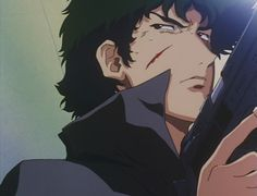 Spike Spiegel. Seriously, one of the coolest anime characters. Ever.