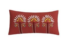 Echo Jaipur 9 by 18-Inch Polyester Fill Pillow, Red.  Buy New: $39.99  Deal by: SmartPillowShoppers.com