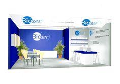 Diseño del stand de Bioser para una feria
