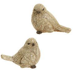 "Winter Song - 3.5"" Faux Knit Glittery Birds - Set of 2  http://www.amazon.com/dp/B017LJW6RC/ref=cm_sw_r_pi_dp_Bi6swb1RBE9XK"