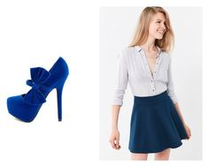 """""""Untitled #60"""" by margarita-gilbon ❤ liked on Polyvore featuring Cooperative and Charlotte Russe"""