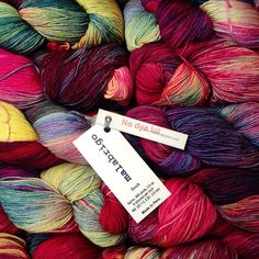 @hillsboroughyarnshop | malabrigo Sock in Aniversario