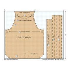 Download three apron patterns